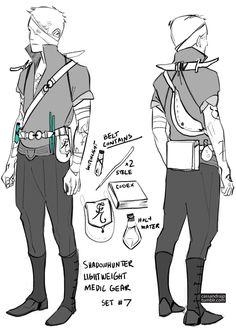 Shadowhunter Lightweight Medic Gear Sey #7 by Cassandra Jean (SHADOWHUNTERS)