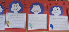 Dr. Seuss's Thing 1 and Thing 2 Writing Activity. FREE paper and activity!