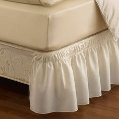 product image for Ruffled Solid Adjustable Bed Skirt