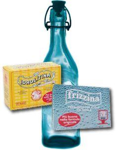 """Acqua con le bolle... Bevo solo acqua """"gassata"""" con l'idrolitina,... mi sono fermata agli anni 80!!!"""
