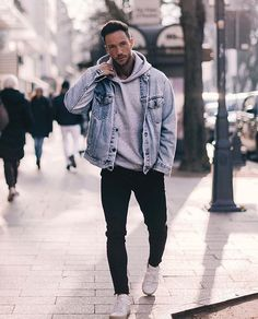 Magic fox winter outfits nachstylen men s patchwork long sleeved pullover Outfits Nachstylen, Dope Outfits, Amazing Outfits, Travel Outfits, Sport Outfits, Fashion Outfits, Stylish Mens Outfits, Casual Winter Outfits, Trendy Suits