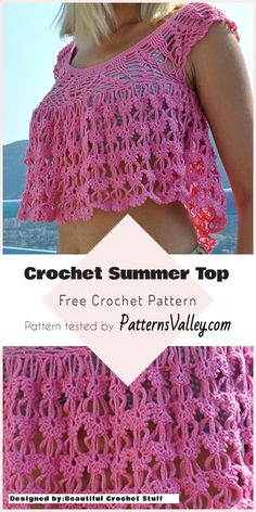 Exclusive Photo of Beginning Crochet Patterns Beginning Crochet Patterns Quick Easy Summer Tops Free Crochet Patterns Made Smartly Crochet Skirt Pattern, Easy Crochet Patterns, Crochet Patterns For Beginners, Free Crochet, Knit Crochet, Crochet Baby, Tutorial Crochet, Crochet Sweaters, Crochet Tutorials