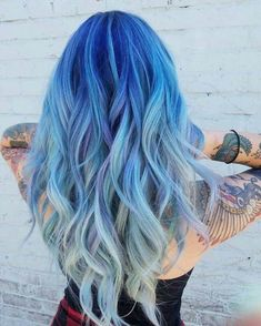 Icy blue hair color melt! #icy