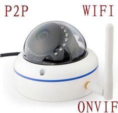 HD Mini Wifi IP Camera 720P Wireless P2P Onvif H.264 1 Megapixel Night Vision metal Dome Camera HD Wifi IP Cctv Security System Digital Guru Shop
