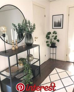 38 ideas home living room design plants for 2019 Home Living Room, Living Room Designs, Living Room Decor, Bedroom Decor, Dining Room, Room Interior, Home Interior Design, Modern Interior, Flat Interior
