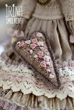 doll Tilda DOES – shop and order online on Livemaster | Very stylish and expensive tilde happened. Noble…