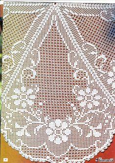 Annie's Crochet, Crochet Doily Diagram, Fillet Crochet, Crochet Doily Patterns, Crochet Home, Thread Crochet, Crochet Doilies, Crochet Tablecloth, Blackwork
