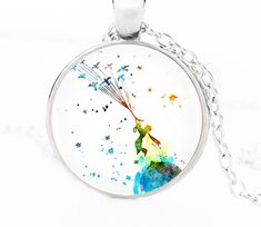 The Little Prince Pendant Necklace Handmade