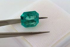 CERTIFIED 5.73Ttcw AAAA NATURAL LOOSE COLOMBIAN GREEN EMERALD 12.60mmx11.85mm | eBay