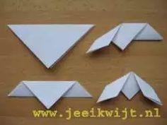 Geometric Origami Birds – Modern Wall Pattern Vinyl Decal / Sticker Set For Home, Kids Room, Nursery, Bedroom. Gato Origami, Origami Bird, Paper Folding Crafts, Paper Crafts, Spring Crafts For Kids, Art For Kids, Patterned Vinyl, Spring Activities, Art Lessons Elementary