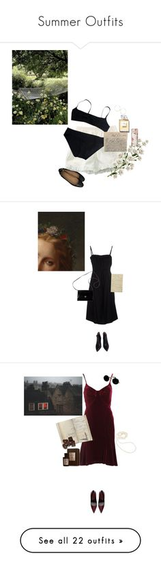 """Summer Outfits"" by nad-ja ❤ liked on Polyvore featuring Eres, Lana, Chanel, Alaïa, Neil Barrett, Givenchy, Zara, Z Spoke by Zac Posen, Acqua di Parma and Dollydagger"