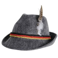 German Alpine Hat #oktoberfest #german