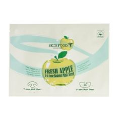 Skinfood Fresh Apple T.U Zone Balance Mask Sheet by Skinfood. $3.65