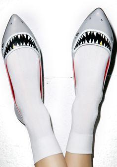Taylor Says Sharkie Flats | Dolls Kill
