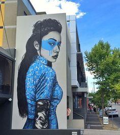 by Fin Dac in Melbourne, 1/16 (LP) #streetart jd