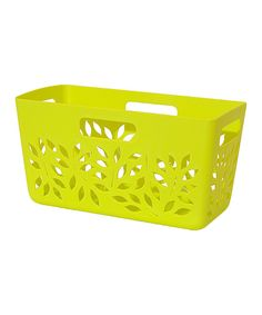 Look at this Green Pantry Basket on #zulily today!