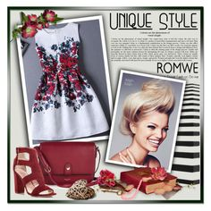 Romwe1 by tanja133 on Polyvore featuring polyvore, fashion, style, Kate Spade, Nina Ricci, Retrò and clothing