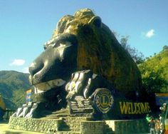 BAGUIO CITY, PHILIPPINES I remember this lion head