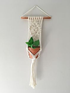 This item is unavailable Wall Plant Holder, Plant Wall, Plant Holders, Macrame Plant Hanger Patterns, Macrame Plant Hangers, Macrame Hanging Planter, Macrame Plant Holder, Diy Crafts To Sell, Diy Arts And Crafts