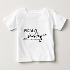 Recovery Journey Arrow Baby T-Shirt - anniversary gifts ideas diy celebration cyo unique