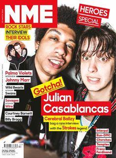 NME, 29 de Marzo 2014: Julian Casablancas, a rare interview with the Strokes legend