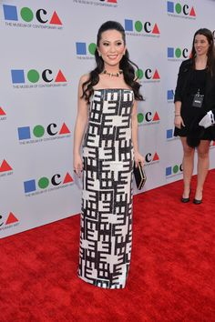 """Christine Chiu attends """"Yesssss!"""" MOCA Gala 2013, Celebrating the Opening of the Exhibition Urs Fischer, at MOCA Grand Avenue and The Geffen Contemporary on April 20, 2013 in Los Angeles, California."""