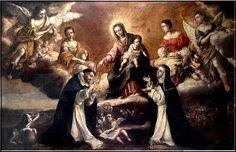 Estaba tan acostumbrado a las frecuentes visitas de Jesucristo y de la santísima Virgen, que su oración era un éxtasis continuo.