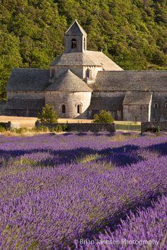 Algún día quiero ir aquí...     Abbaye de Senanque near Gordes, Provence France. © Brian Jannsen Photography