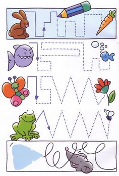 Crafts,Actvities and Worksheets for Preschool,Toddler and Kindergarten.Lots of worksheets and coloring pages. Tracing Worksheets, Preschool Worksheets, Preschool Activities, Motor Activities, Educational Activities, Early Learning, Kids Learning, Art Classroom Management, Handwriting Activities