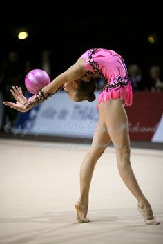 Maybe I should have been a rhythmic gymnast. Its so beautiful but hard!