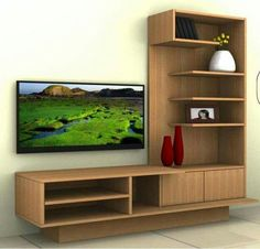 modern tv wall unit 3d model - TV / Wall Unit Modern Design X_16 ...