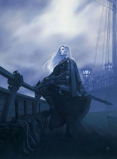 John T Snyder: Elric sailor on the seas of fate.