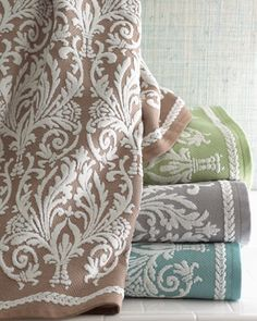 """""""Bourges"""" towels or something similar for master bath."""