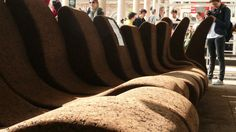 Cork Sofa in Museum of Architecture    Find the best products here…