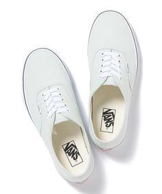 B:MING by BEAMS VANS / AUTHENTIC EXCLUSIVE #women-fashion #women-shoes#footwear #shoe #white
