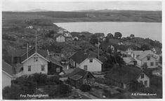 Vestfold fylke Larvik kommune Nevlunghavn brukt 1915 Utg A. G. Finstad