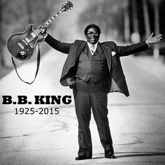 """B.B. King, whose scorching guitar licks and heartfelt vocals made him the idol of generations of musicians and fans while earning him the nickname """"King of the Blues,"""" died late Thursday. He was 89. Tap the link in our profile for more photos from the life of a legend. (Image: Vandell Cobb / Ebony Collection via AP) #NBCNewsPics #BBKing"""