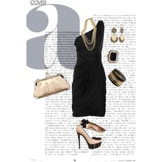 For cocktail gathering, created by irenesimon.polyvore.com