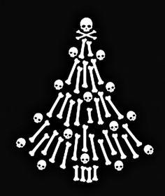 ~ Mommy s Black Christmas ~ Zombie Christmas, Pagan Christmas, Merry Christmas, Dark Christmas, Happy Halloween, Christmas Time, Christmas Greetings, Naughty Kids, Sugar Skull Art