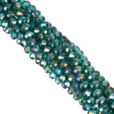 AB Color 6mm 100piece/lot Rondelle Glass Crystal Stand Beads for Jewelry DIY