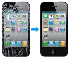 How to Fix a Broken iphone 4GS Screen