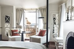 Hotel Le Yaca, Saint Tropez Interior Design Renovation and decoration by Monica Damonte and Victoria Lacarrieu