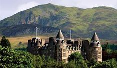 Atholl Palace Hotel, Perthshire - boasts 48 acres and the scenic beauty of the surrounding Highlands Unique Hotels, Beautiful Hotels, Beautiful Places, Amazing Hotels, Scotland Castles, Scottish Castles, Pitlochry Scotland, Palace Hotel, Scotland Travel