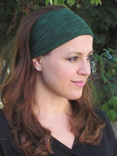 Emerald Green Headband Wide Headband Etsy ColorOnMaterial Don't forget St Patricks Day!