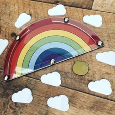 £19.50  Reusable Rainbow Reward System, perfect for getting ready for school, day to day rewarding of good behaviour and potty training