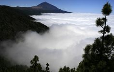 Teide Volcano on Tenerife, one of Spain's Canary Islands...this is the third largest volcano on earth