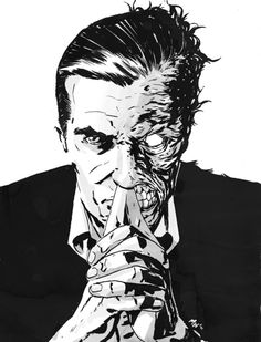 Two-Face by Mike Walsh