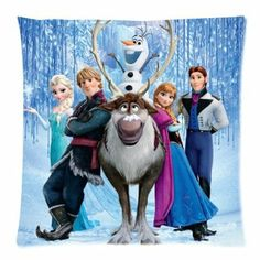 Disney Frozen Disney All Charakters Pillow Case 18x18