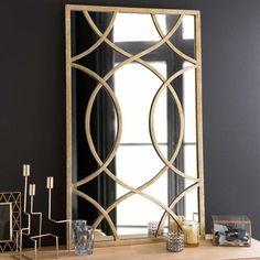 Olney - Specchio in metallo H 100 cm