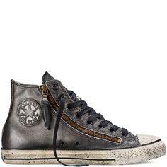 Chuck Taylor All Star Metallic Double Zip Black black